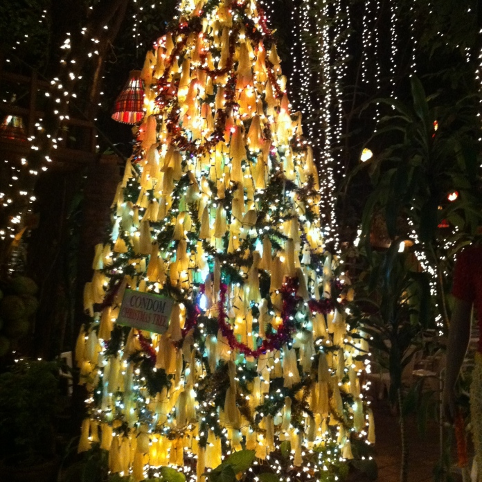 It's a condom tree!