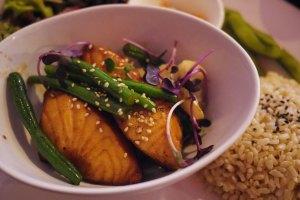 Grilled teriyaki Salmon - yum
