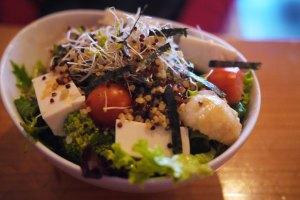 Mum ordered the quinoa salad
