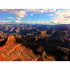 Morning view of The Grand Canyon