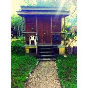 Our little cabin for the stay in San Ignacio