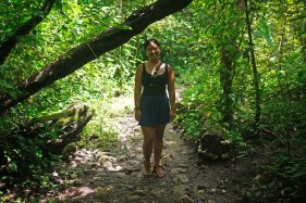 The nature walk from hell - Copan ruins