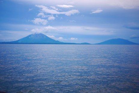 Approaching Ometepe, Nicaragua