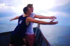 Obligatory Titanic shots on a boat, Lake Nicaragua