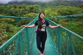 Hanging Bridges in the Cloud Forest, Monteverde, Costa Rica