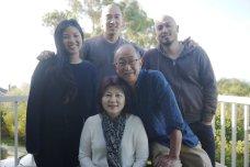 Family portrait on self-timer