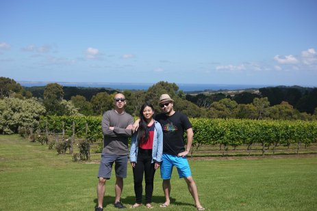 Sibling love, Red Hill Winery