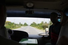 On the way to Siem Reap, Cambodia