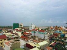 Roof-top view of Phnom Penh, Cambodia