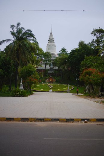 Articifial Hill, Cyclo Tour of Phnom Penh, Cambodia