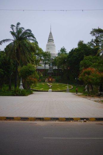 Articifial Hill, Cyclo Tour of Phnom Penh, Cambodia