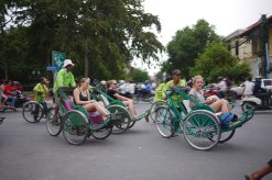 Cyclo Tour of Phnom Penh, Cambodia