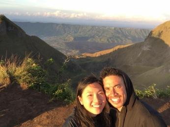 Top of Mt Batur