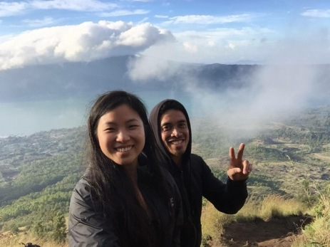 Top of Mt Batur