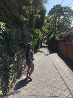 Wandering down random streets in Seminyak