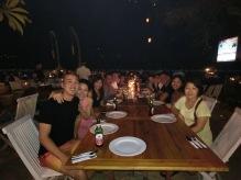 Seafood BBQ on Jimbaran Beach